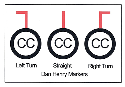 Dan Henry Bike Signs